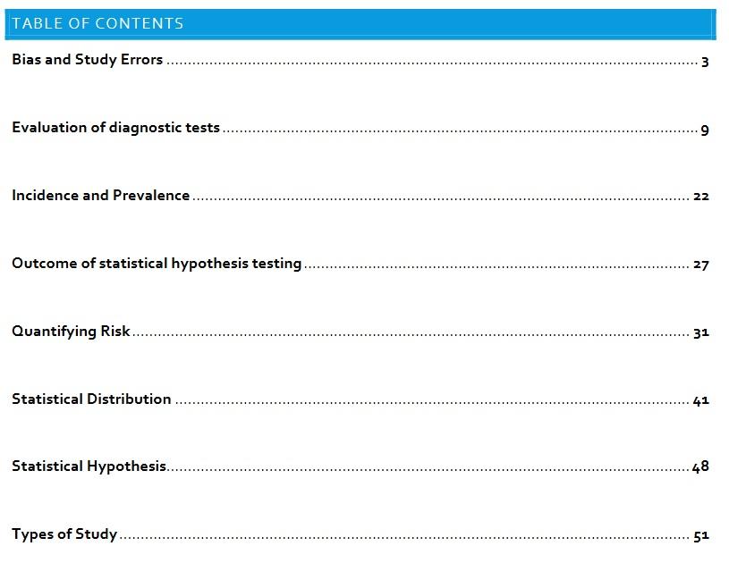 Biostatistics Qbank